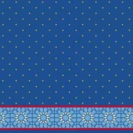 Çelebizade Anema Saflı Cami Halısı Mavi