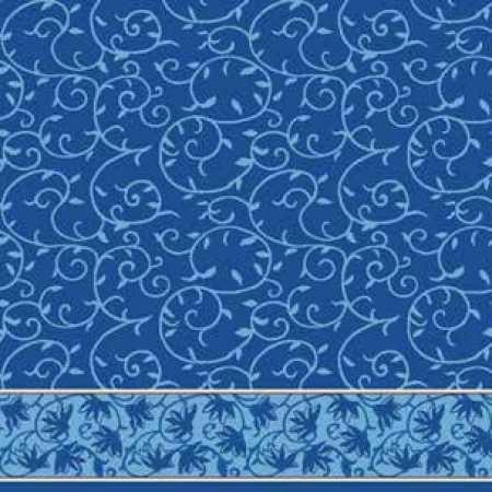 Çelebizade Burçak Saflı Cami Halısı Koyu Mavi