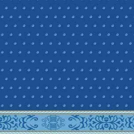 Çelebizade Demet Saflı Cami Halısı Mavi