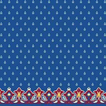 Çelebizade Pitan Saflı Cami Halısı Mavi