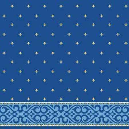 Çelebizade Şehzade Saflı Cami Halısı Mavi