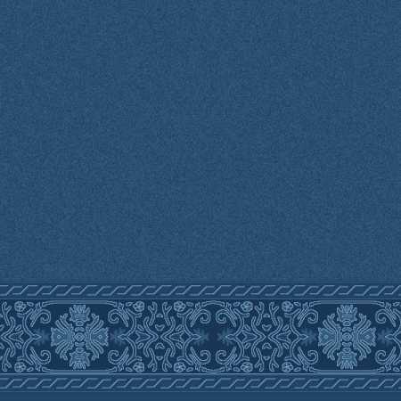 Çelebizade Menekşe Saflı Cami Halısı Antik Mavi