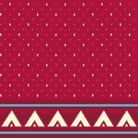 Çelebizade Reyhan Saflı Cami Halısı Kırmızı