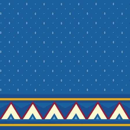 Çelebizade Reyhan Saflı Cami Halısı Mavi