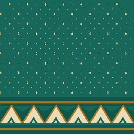 Çelebizade Reyhan Saflı Cami Halısı Yeşil