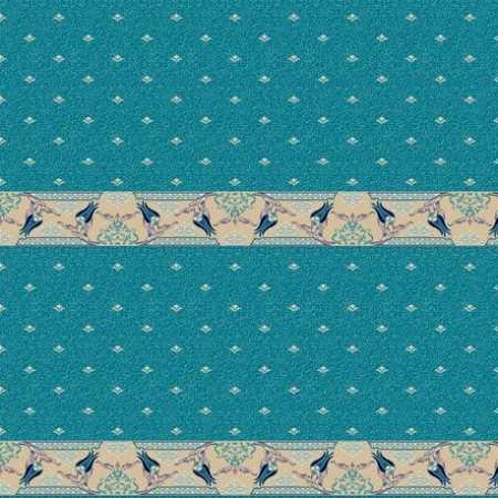 314 Mavi Saflı Akrilik Cami Halısı