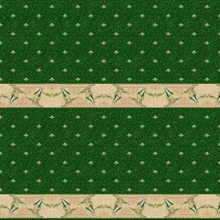 314 Yeşil Saflı Akrilik Cami Halısı