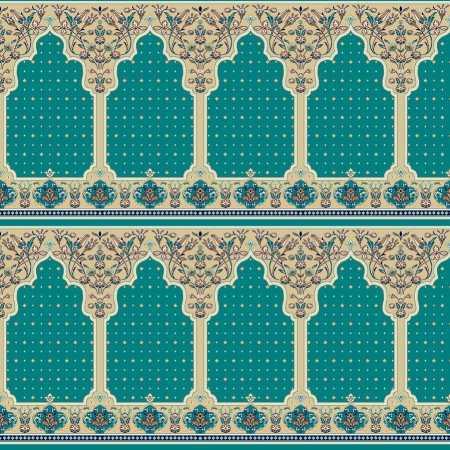 Myfloor Mihraplı Cami Halısı 321MAVİ