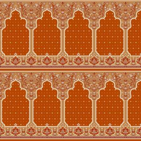 Myfloor Mihraplı Cami Halısı 321TURUNCU