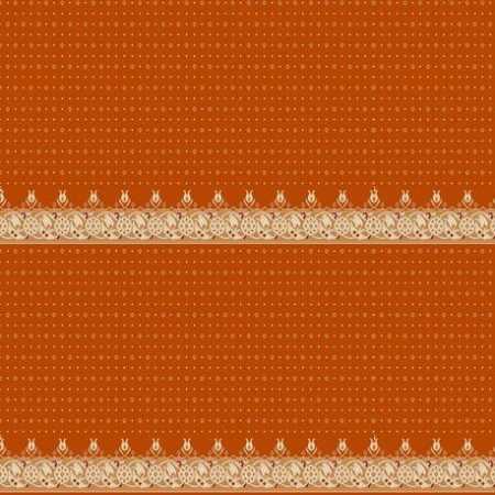325 Turuncu Saflı Akrilik Cami Halısı