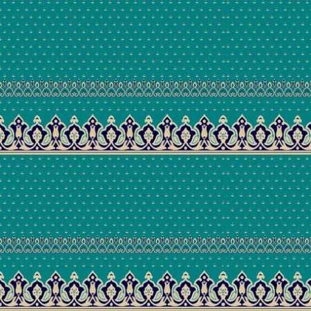 334 Mavi Saflı Akrilik Cami Halısı