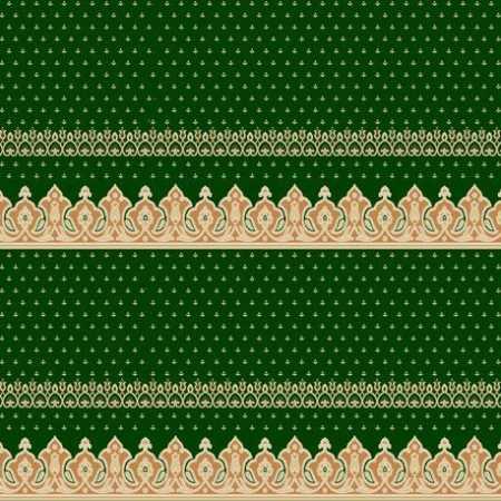 334 Yeşil Saflı Akrilik Cami Halısı