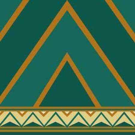 Çelebizade Nergis Saflı Cami Halısı Yeşil