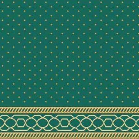 Çelebizade Nevra Saflı Cami Halısı Yeşil