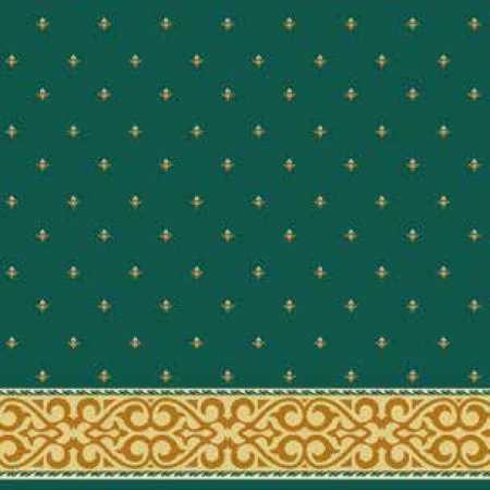 Çelebizade Şehzade Saflı Cami Halısı Yeşil