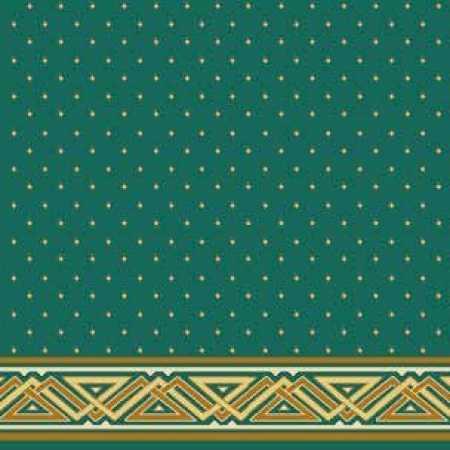 Çelebizade Çağla Saflı Cami Halısı Yeşil