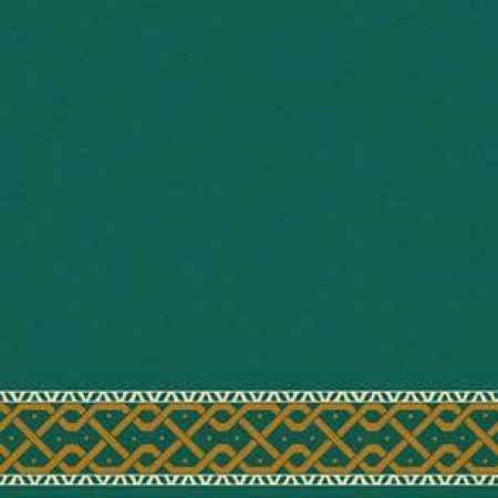 Çelebizade Defne Saflı Cami Halısı Yeşil