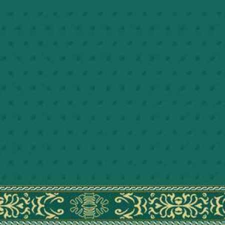 Çelebizade Demet Saflı Cami Halısı Yeşil