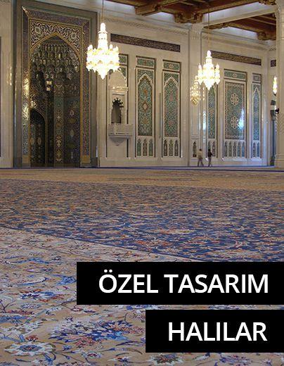Özel Tasarım Camii ve Yurt Halıları